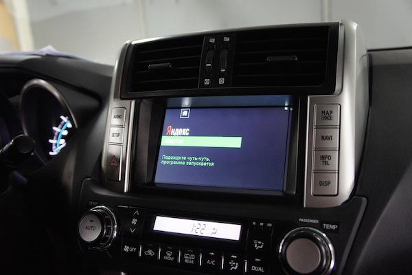 Штатная магнитола Toyota Prado 150
