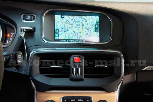 Видеоинтрефейс, навигация с 3G для Volvo V40