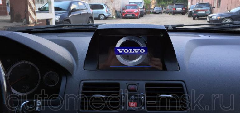 Установка Carmani CX 500 с камерой заднего вида на Volvo xc90