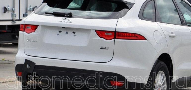 Установка парковочной камеры на Jaguar F-pace
