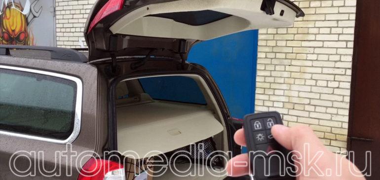 Установка электропривода пятой двери на Volvo XC70