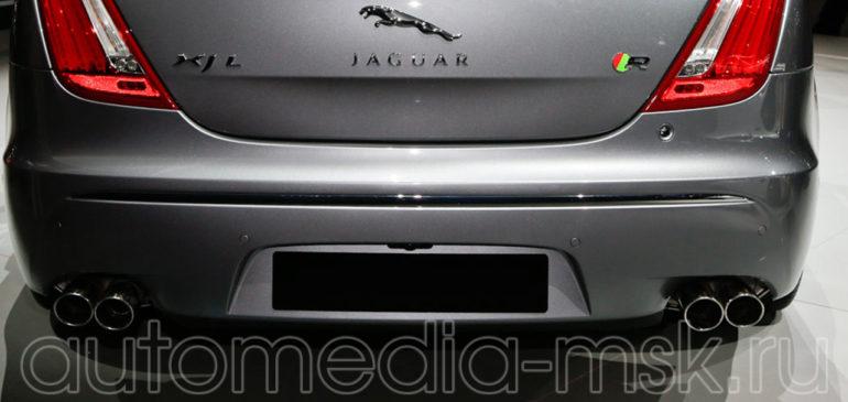 Установка парковочной камеры на Jaguar XJ