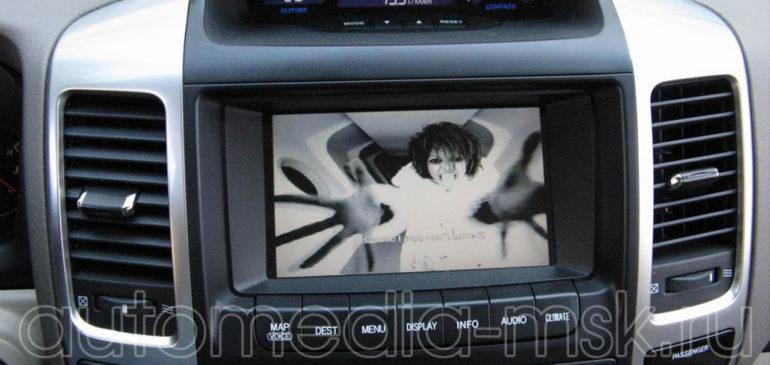 Установка ТВ-тюнера на Toyota Camry