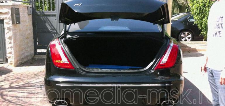 Установка электропривода пятой двери на Jaguar XJ