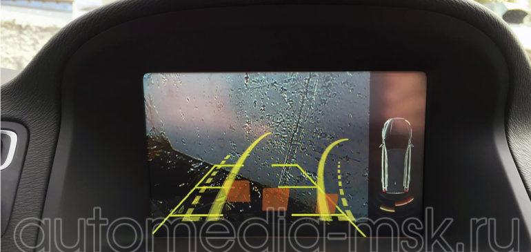 Установка парковочной камеры на Volvo S80