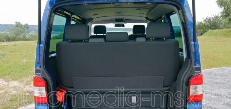 Установка электропривода пятой двери на Volkswagen Multivan