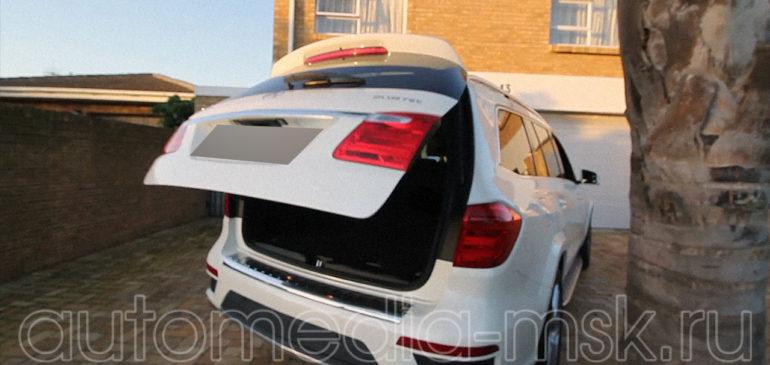 Установка электропривода пятой двери на Mercedes GL