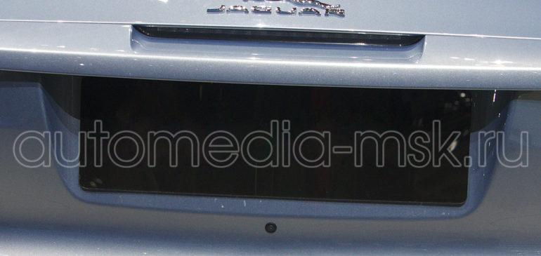 Установка парковочной камеры на Jaguar F-type