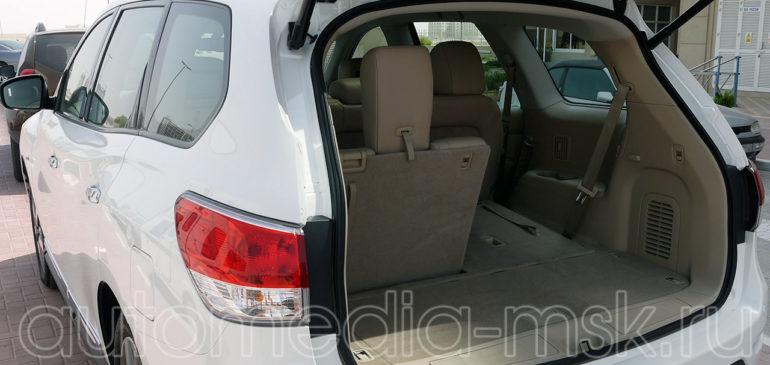 Установка электропривода пятой двери на Nissan Pathfinder