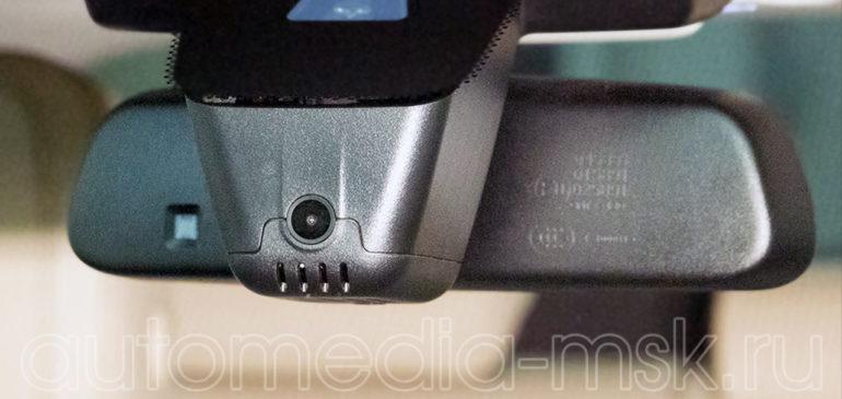 Скрытая установка видеорегистратора на Jaguar XE