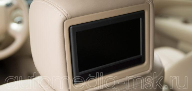 Установка дополнительных мониторов в Nissan X-Trail