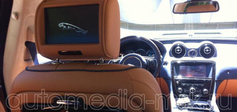 Установка дополнительных мониторов на Jaguar XJ