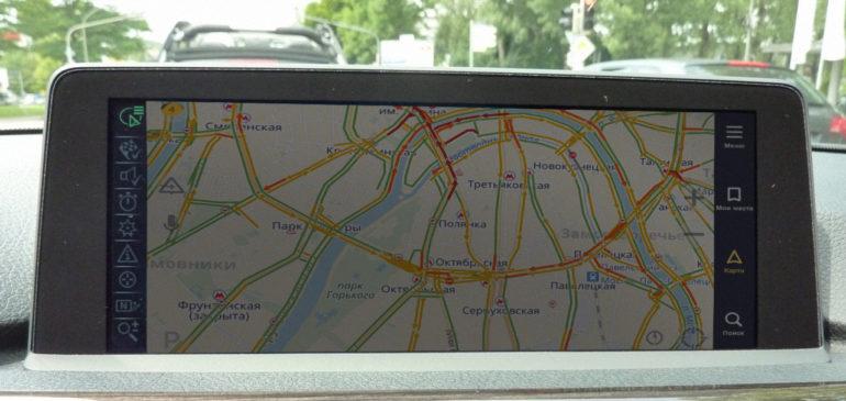 Установка навигации в BMW 3