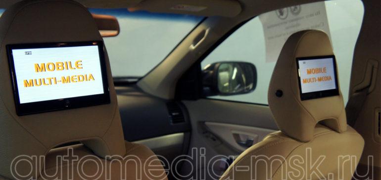 Установка дополнительных мониторов в Volvo XC70