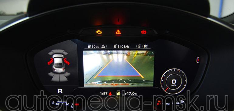 Установка парковочной камеры на Audi TT