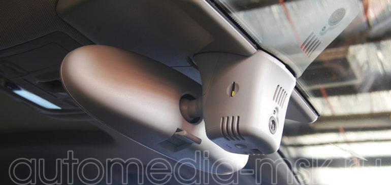 Скрытая установка видеорегистратора на Audi TT