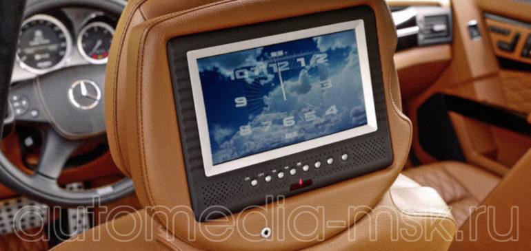 Установка дополнительных мониторов в Mercedes GLK