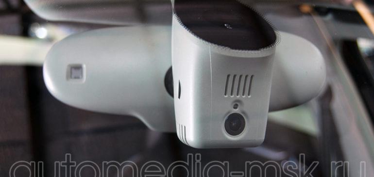 Скрытая установка видеорегистратора на Audi A4