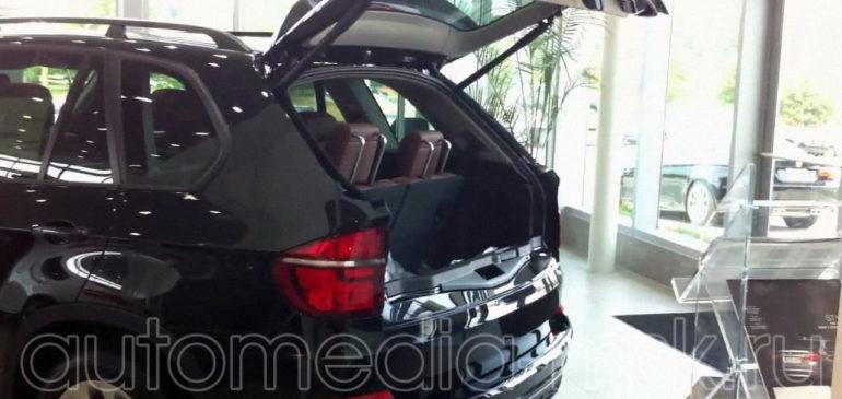 Установка электропривода пятой двери на BMW X5
