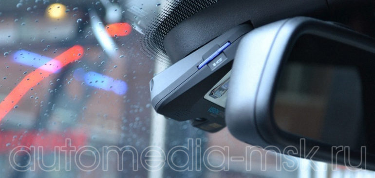 Скрытая установка видеорегистратора на Mercedes GLA
