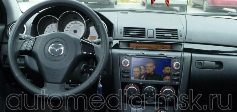 Установка ТВ-тюнера на Mazda CX5