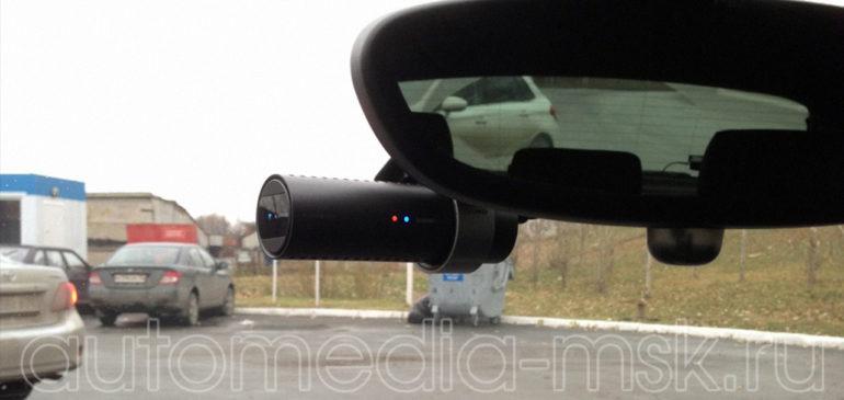 Скрытая установка видеорегистратора на BMW 4