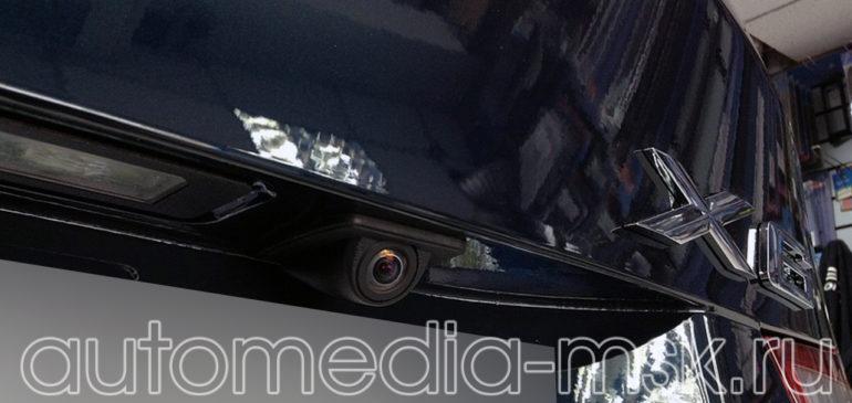 Установка парковочной камеры на BMW X6