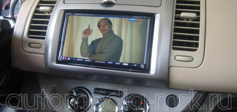Установка ТВ-тюнера на Nissan X-Trail