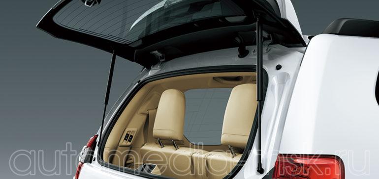 Установка электропривода пятой двери на Toyota Land Cruiser Prado
