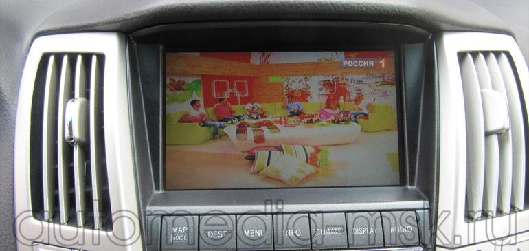 Установка ТВ-тюнера на Lexus LX