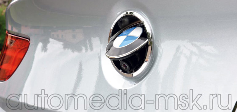 Установка парковочной камеры на BMW 6