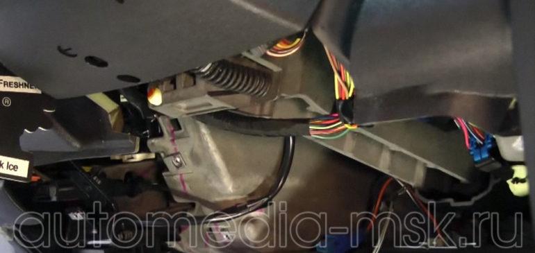 Установка сигнализации на Cadillac ATS