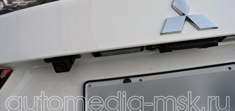 Установка парковочной камеры на Mitsubishi ASX