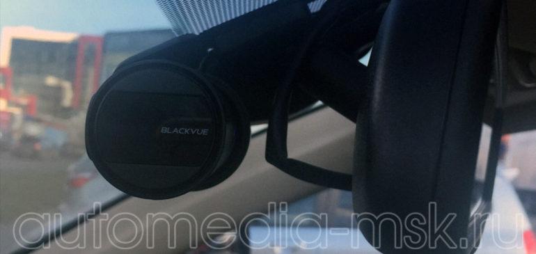 Скрытая установка видеорегистратора на Toyota Land Cruiser 200