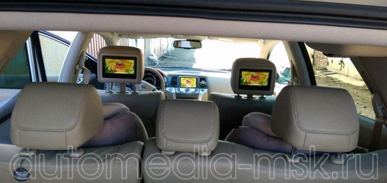 Установка ТВ-тюнера на Nissan Pathfinder