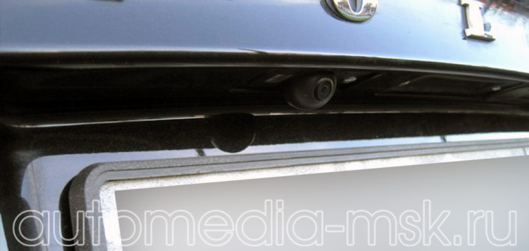 Установка парковочной камеры на Volvo S60