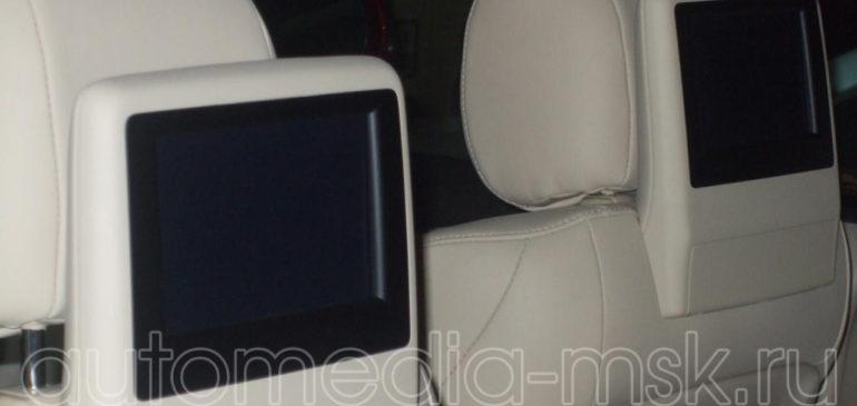 Установка дополнительных мониторов на Lexus NX