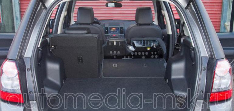Установка электропривода пятой двери на Land rover Freelander