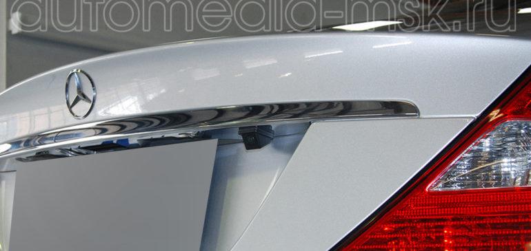 Установка парковочной камеры на Mercedes CLS
