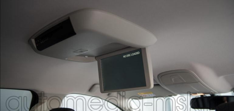 Установка дополнительных мониторов в Mitsubishi Pajero