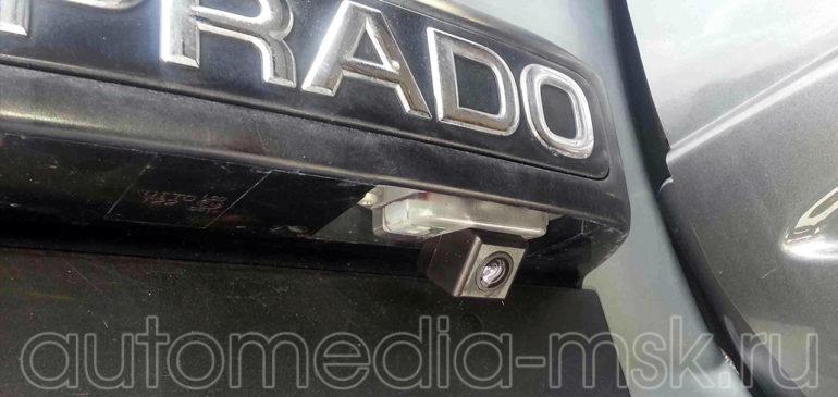 Установка парковочной камеры на Toyota Land Cruiser Prado