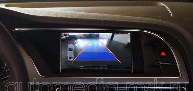 Установка парковочной камеры на Audi A4