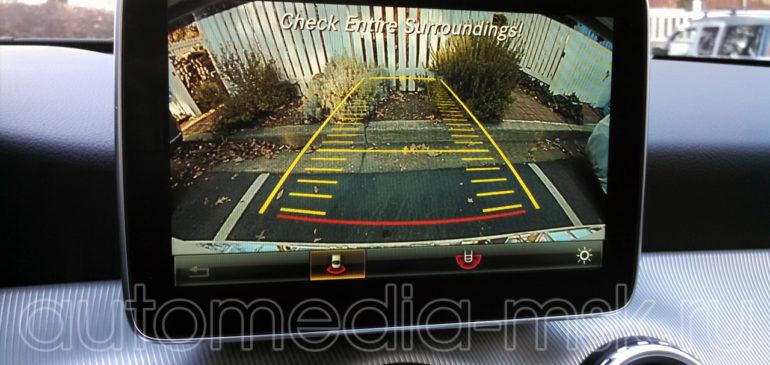 Установка парковочной камеры на Mercedes R-class
