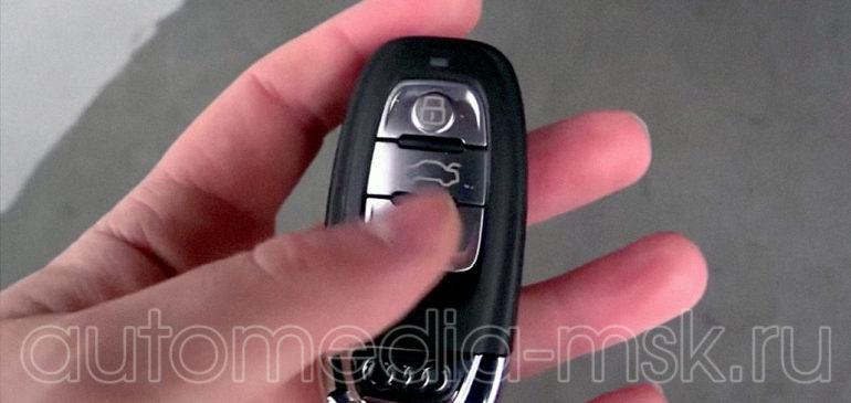 Установка электропривода пятой двери на Audi A6