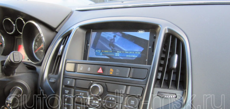Установка видеоинтерфейса в Opel Astra