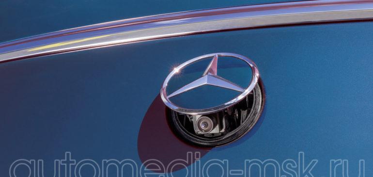 Установка парковочной камеры на Mercedes GLE