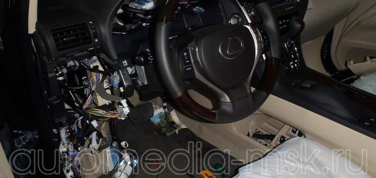 Установка сигнализации на Lexus LX