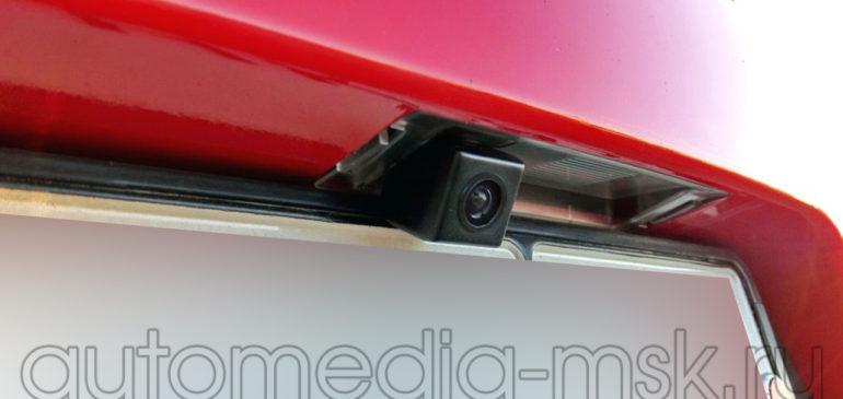Установка парковочной камеры на Kia Cerato
