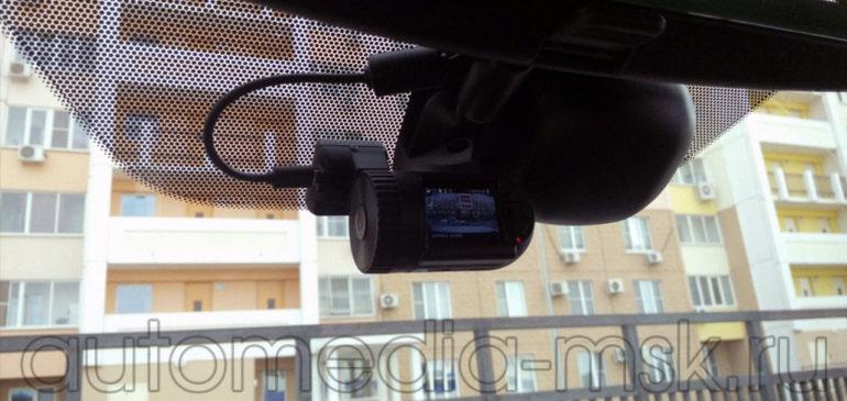 Скрытая установка видеорегистратора на Nissan X-Trail
