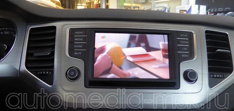 Установка ТВ-тюнера на Volkswagen Multivan